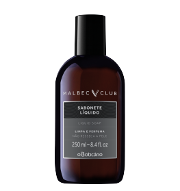 MALBEC CLUB INTENSO SABONETE LIQUIDO 250ML