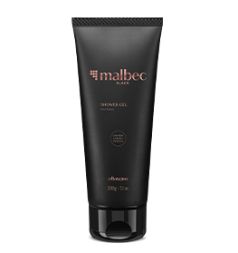 MALBEC BLACK SHOWER GEL 200g