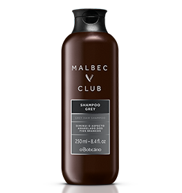 MALBEC CLUB SHAMP GREY 250ML